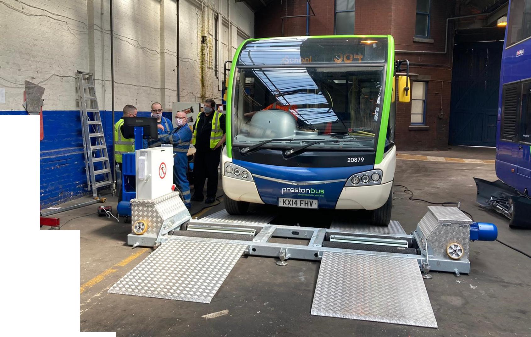 Preston Bus Install